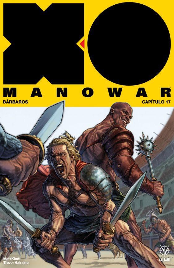 X-O MANOWAR 17: portada