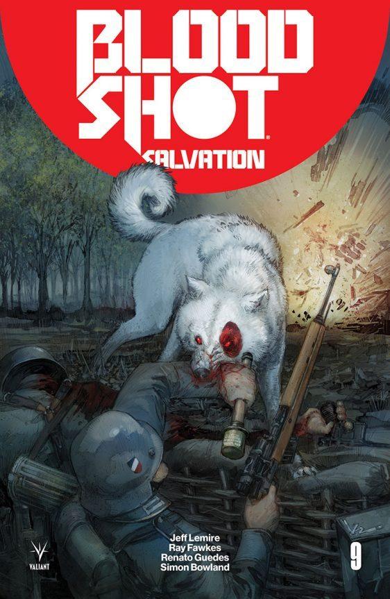 BLOODSHOT SALVATION 9: portada