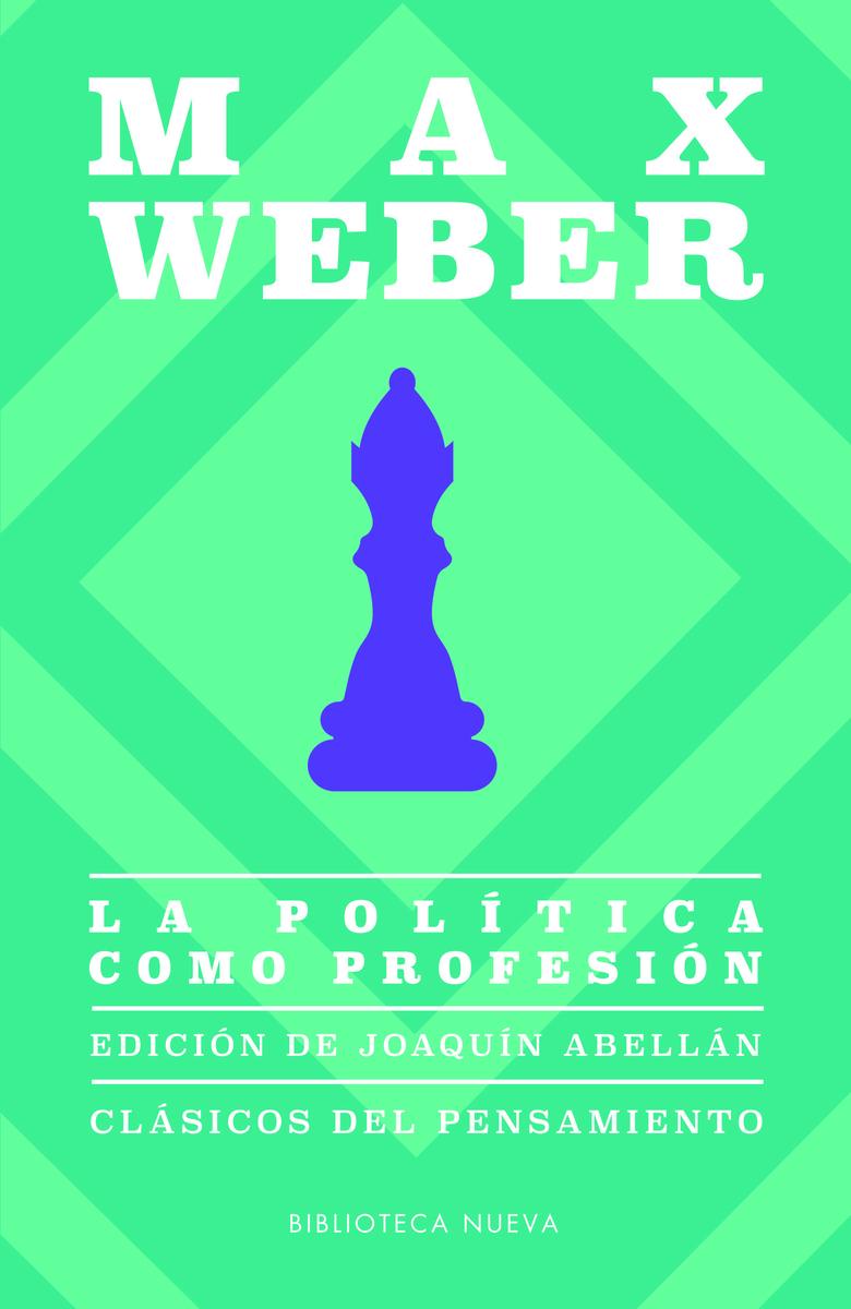 La política como profesión: portada