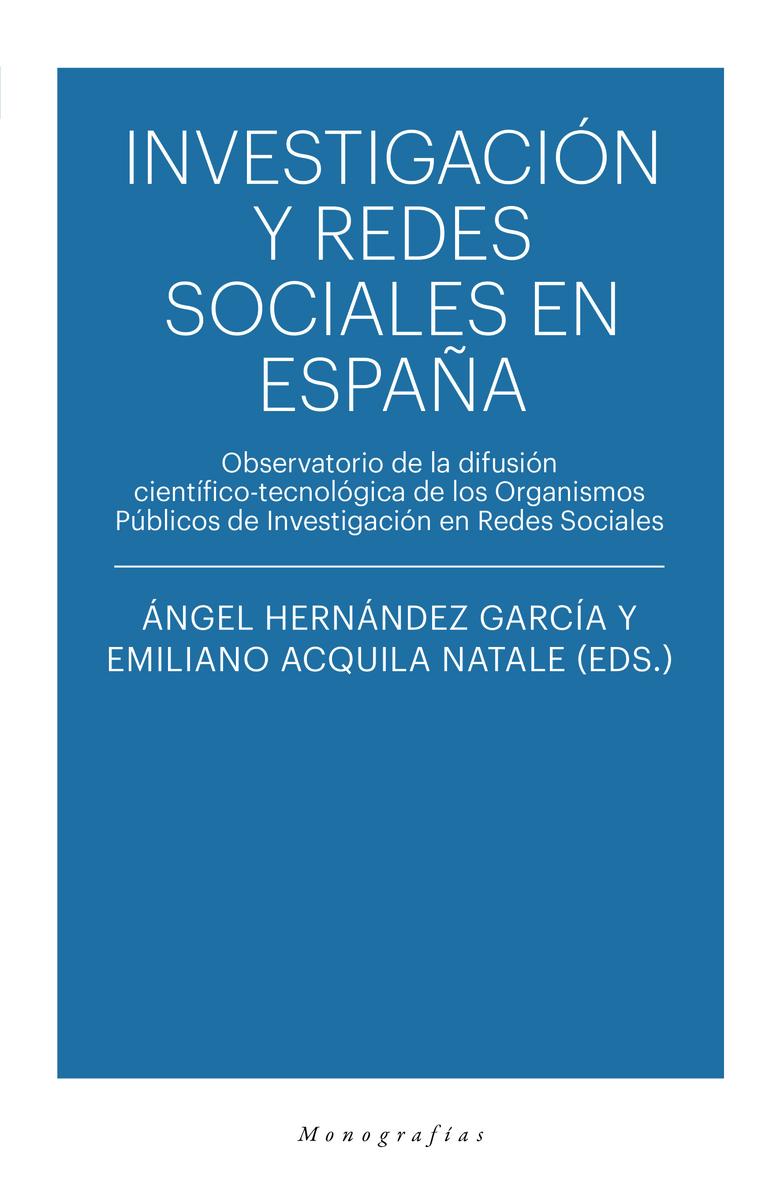 INVESTIGACION Y REDES SOCIALES EN ESPAÑA: portada