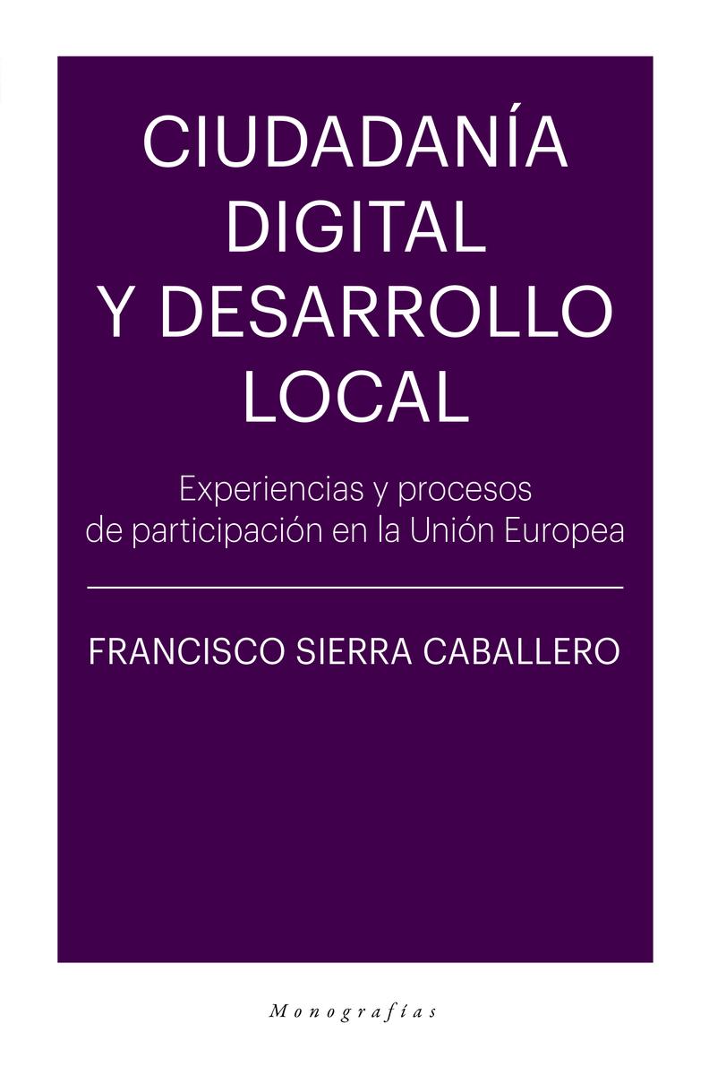 Ciudadanía digital y desarrollo local: portada