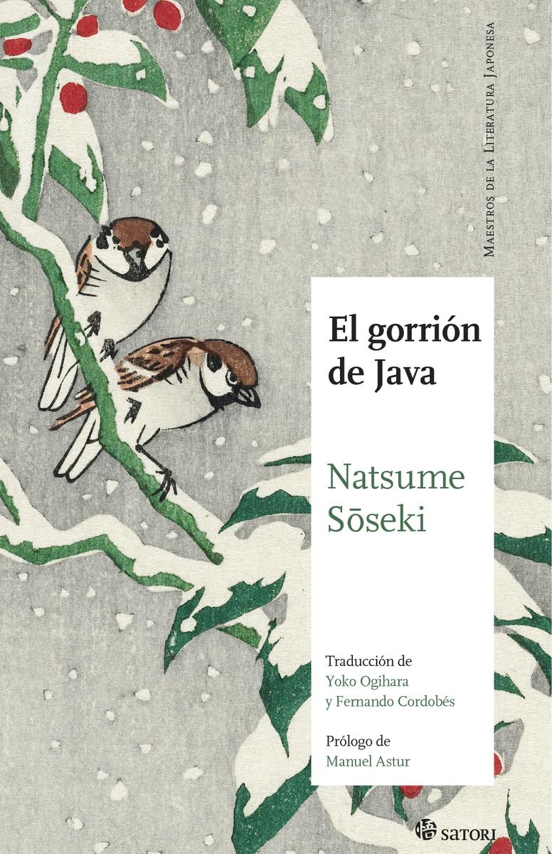 EL GORRIÓN DE JAVA: portada