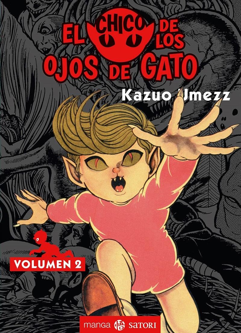 EL CHICO DE LOS OJOS DE GATO 2: portada