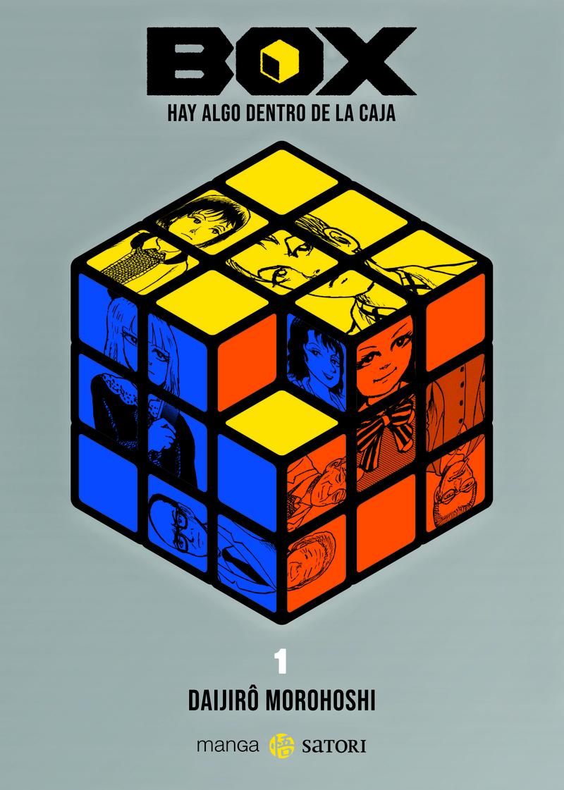 BOX. HAY ALGO DENTRO DE LA CAJA 1: portada