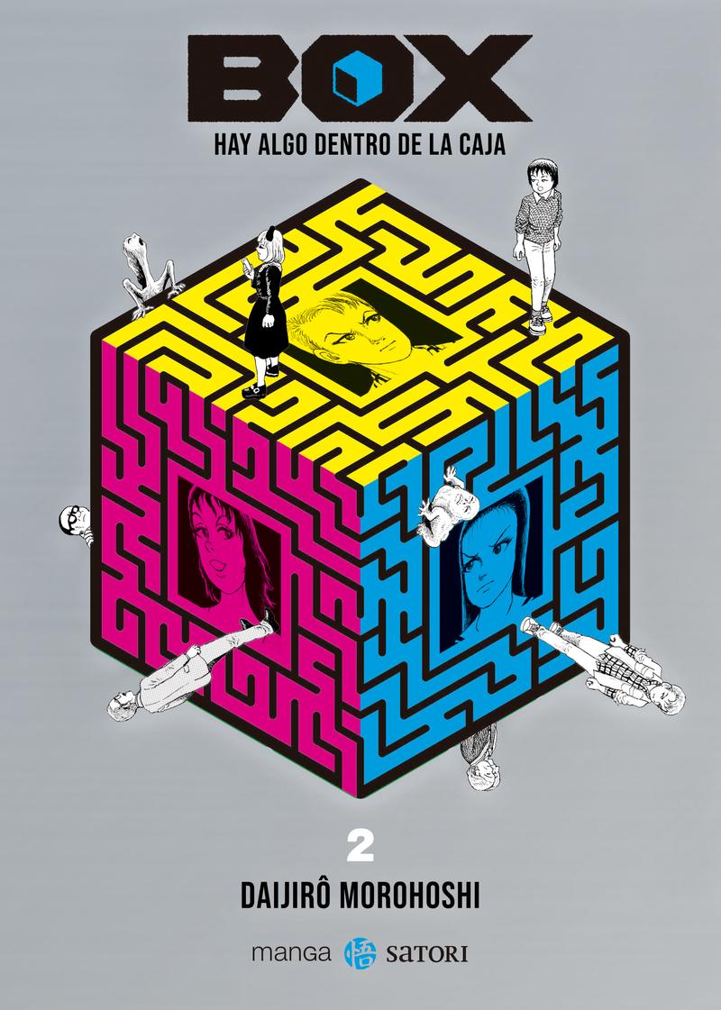 BOX. HAY ALGO DENTRO DE LA CAJA 2: portada