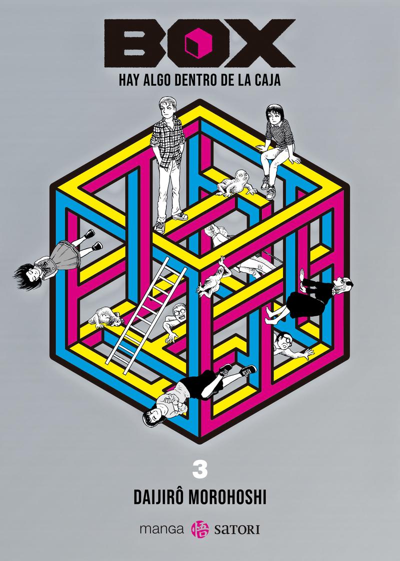 BOX. HAY ALGO DENTRO DE LA CAJA 3: portada