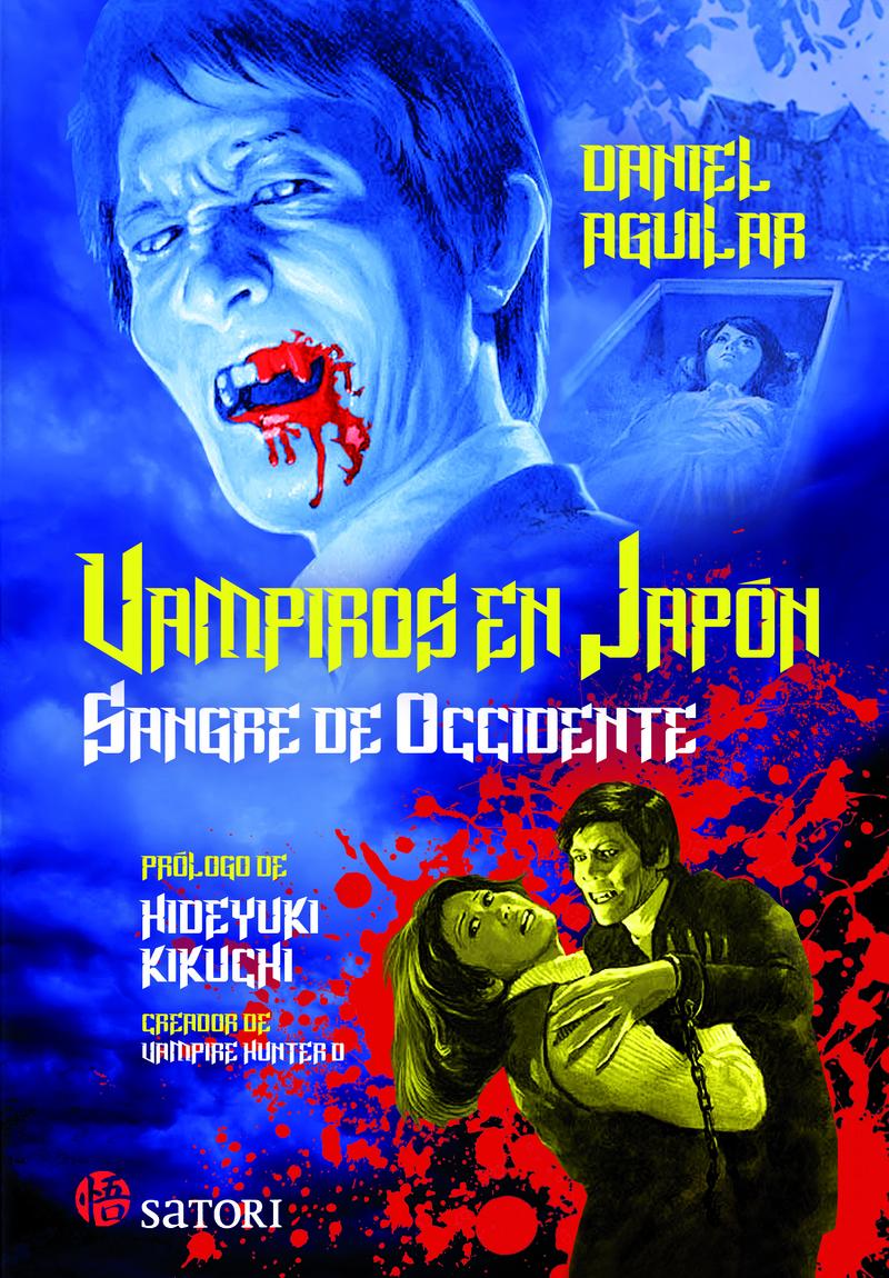 VAMPIROS EN JAPÓN. SANGRE DE OCCIDENTE: portada