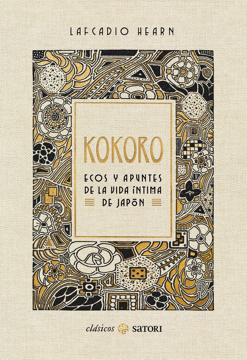 KOKORO. ECOS Y APUNTES DE LA VIDA ÍNTIMA DE JAPÓN: portada