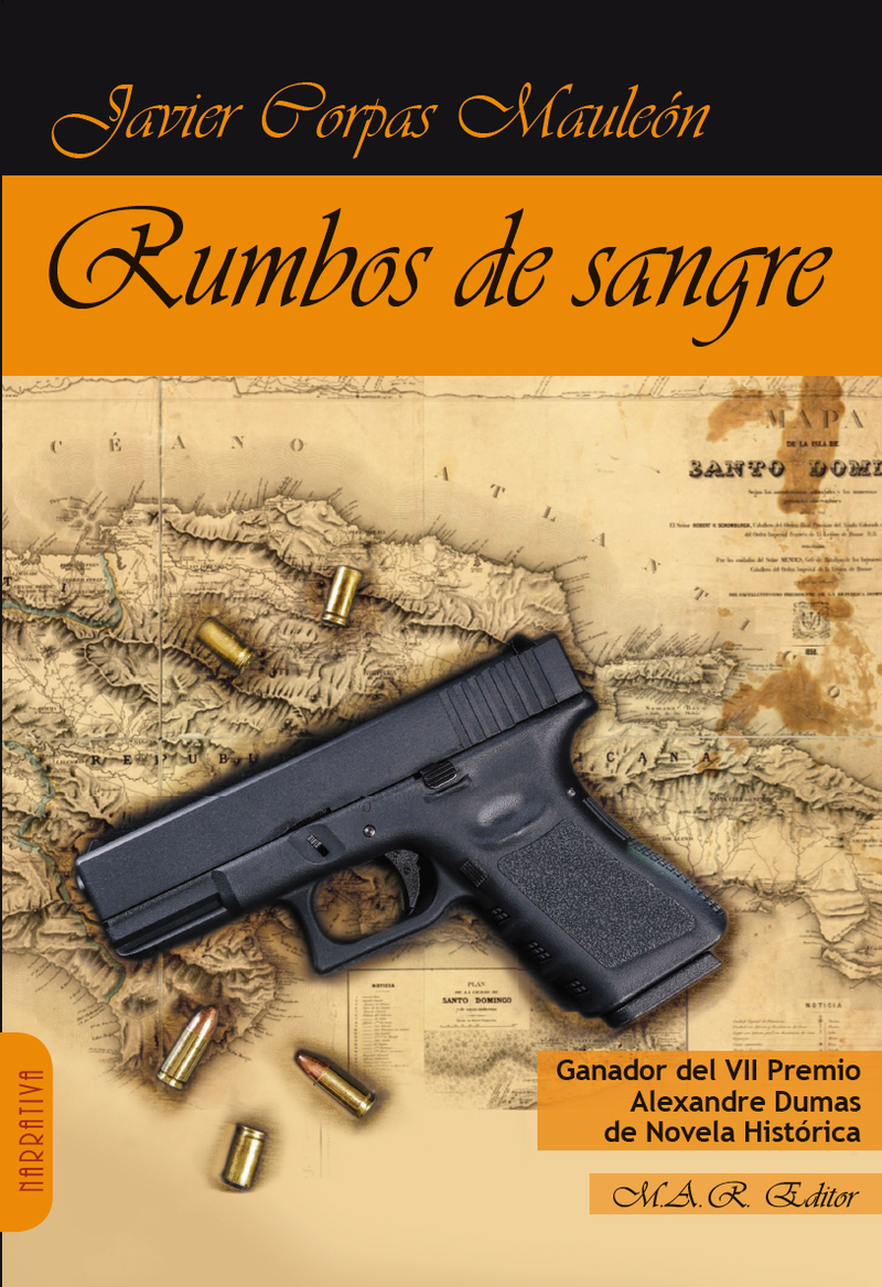 RUMBOS DE SANGRE: portada