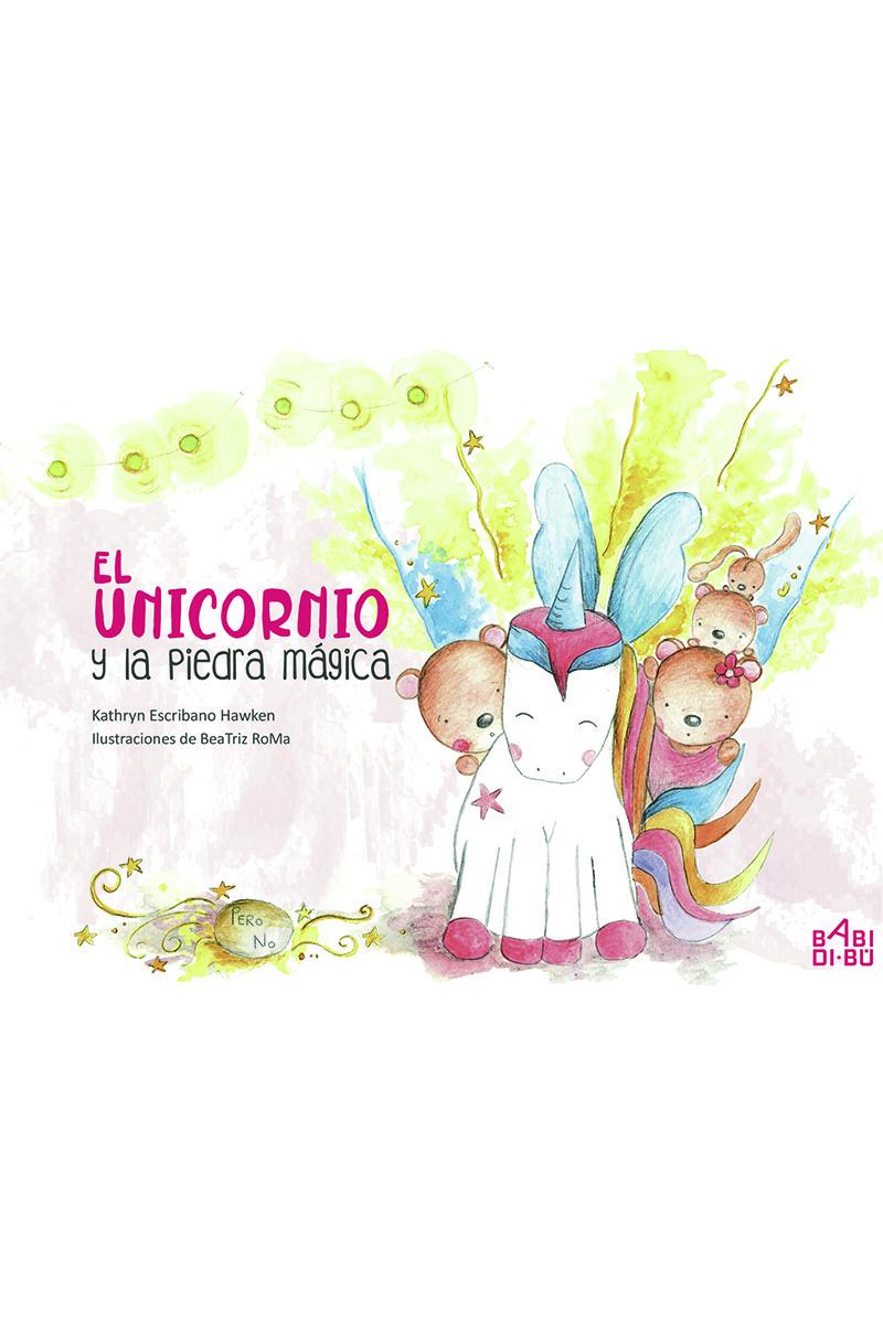 El unicornio y la piedra mágica: portada