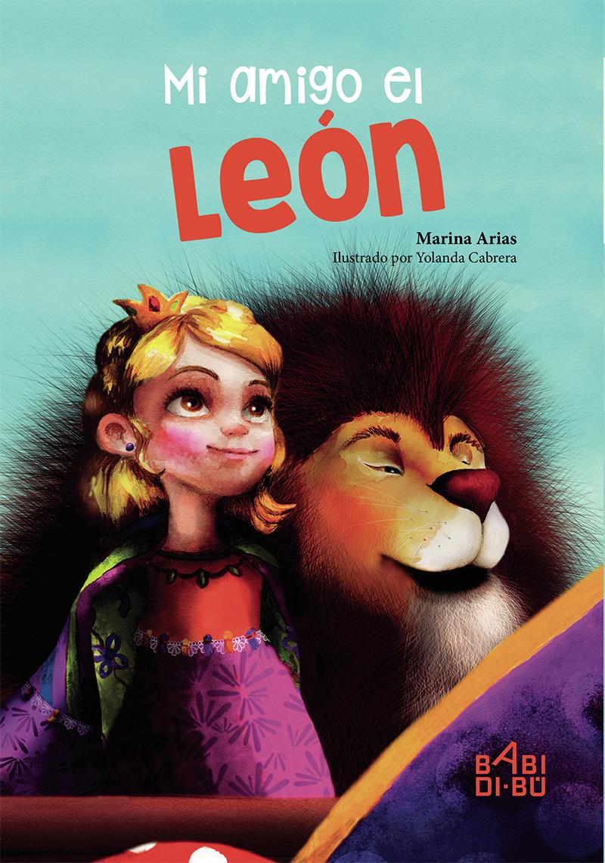 Mi amigo el león: portada