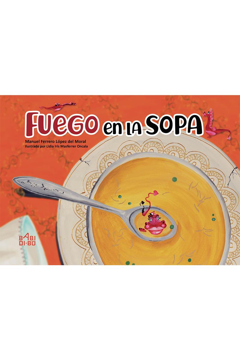 Fuego en la sopa: portada