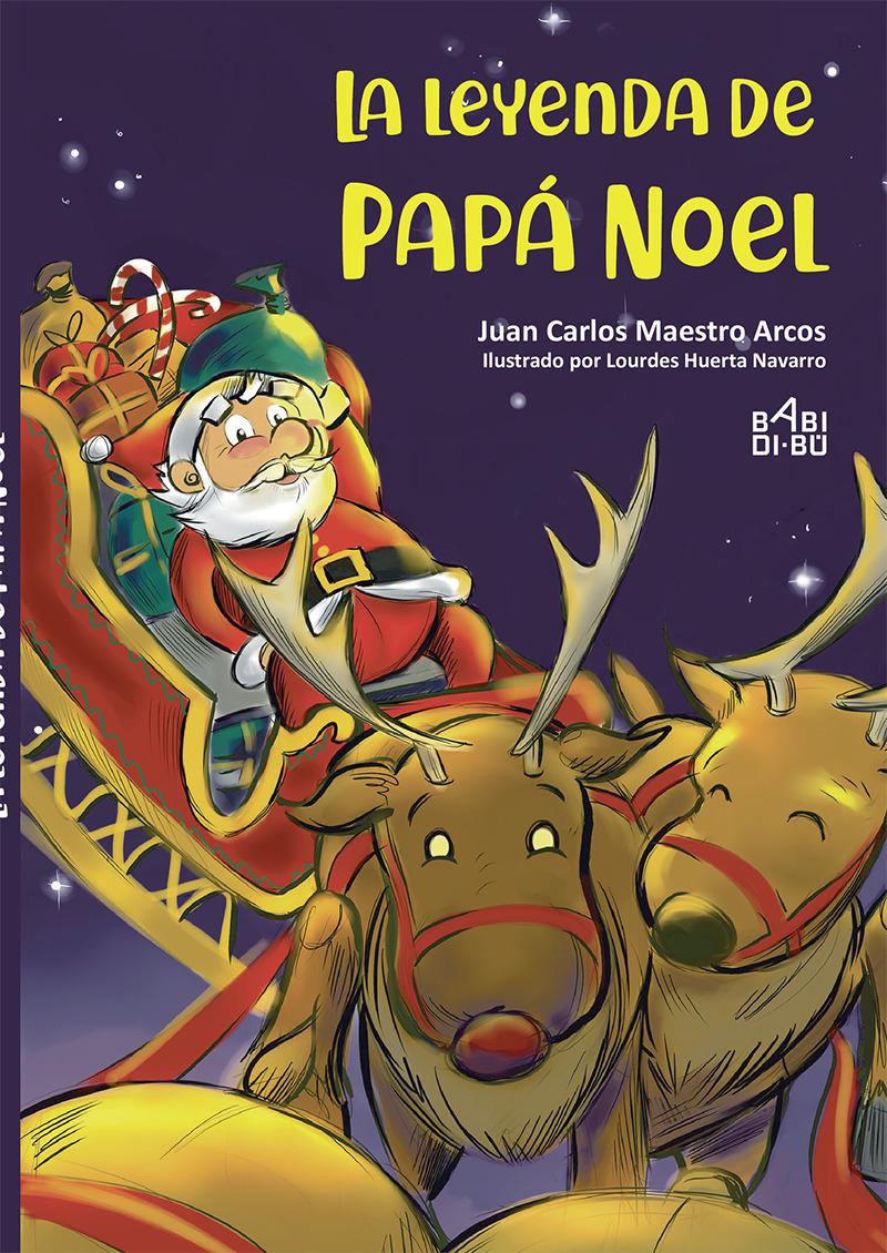 La leyenda de Papá Noel: portada