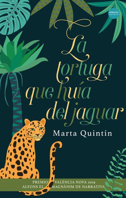 La tortuga que huía del jaguar: portada