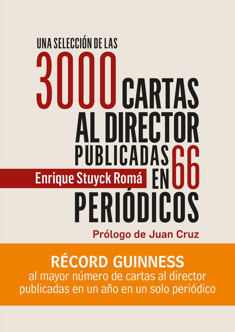 Una selección de las 3000 cartas al director: portada