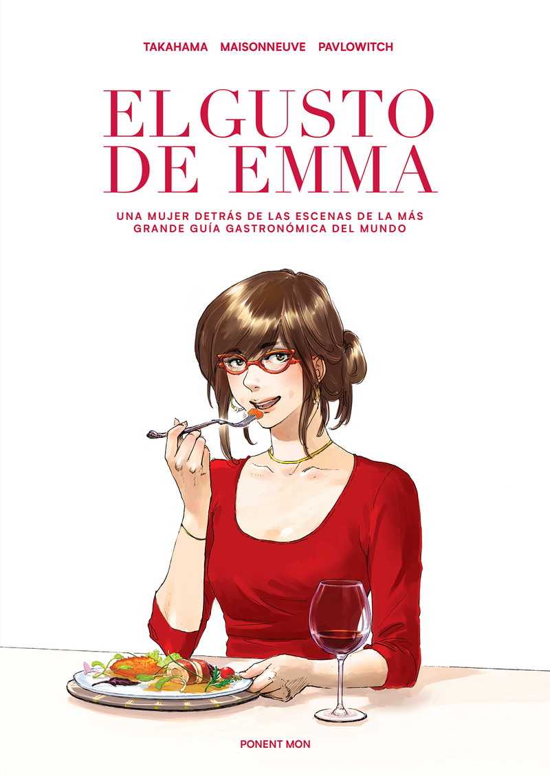 El gusto de Emma: portada