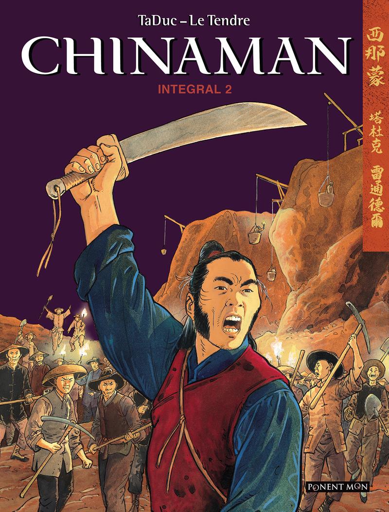 Chinaman integral 2: portada