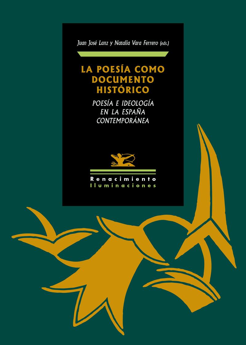 La poesía como documento histórico: portada