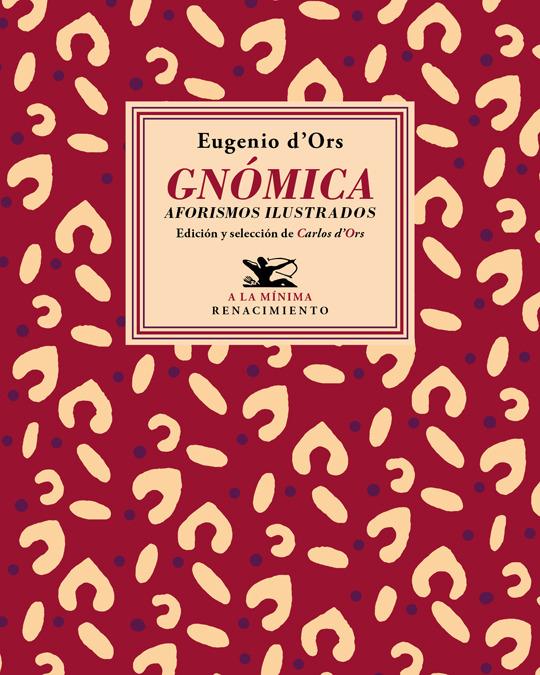Gnómica. Aforismos ilustrados: portada