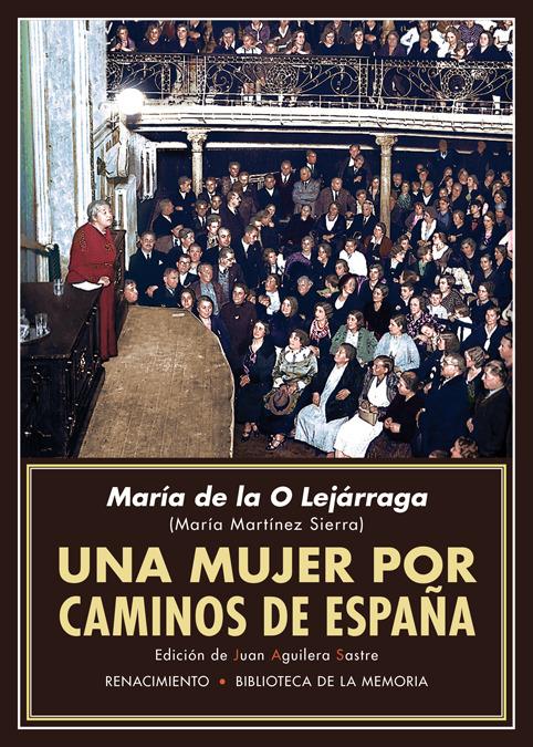 UNA MUJER POR CAMINOS DE ESPAñA: portada