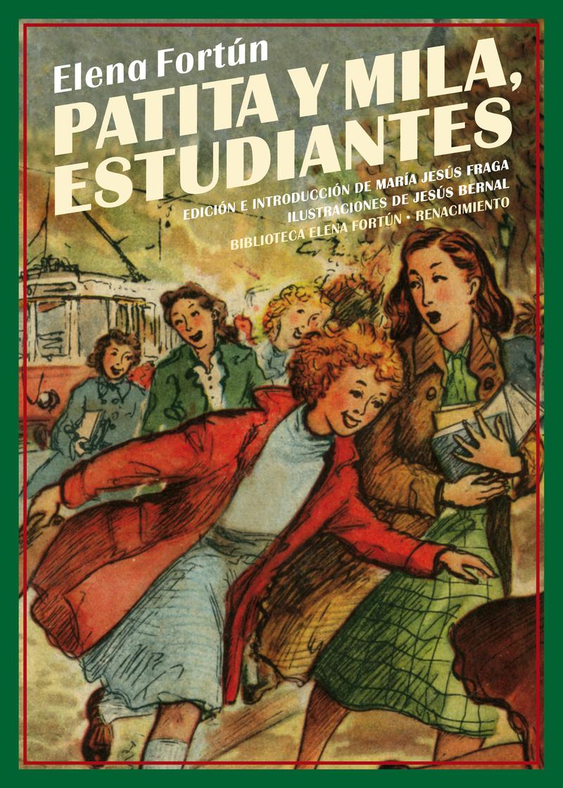 Patita y Mila, estudiantes: portada
