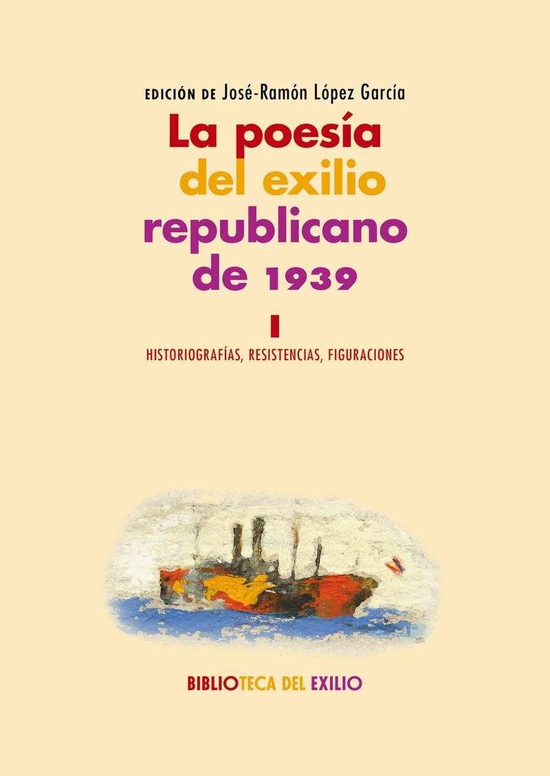 La poesía del exilio republicano de 1939. I: portada
