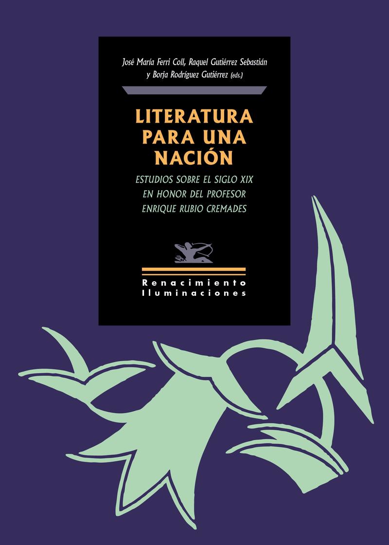 Literatura para una nación: portada