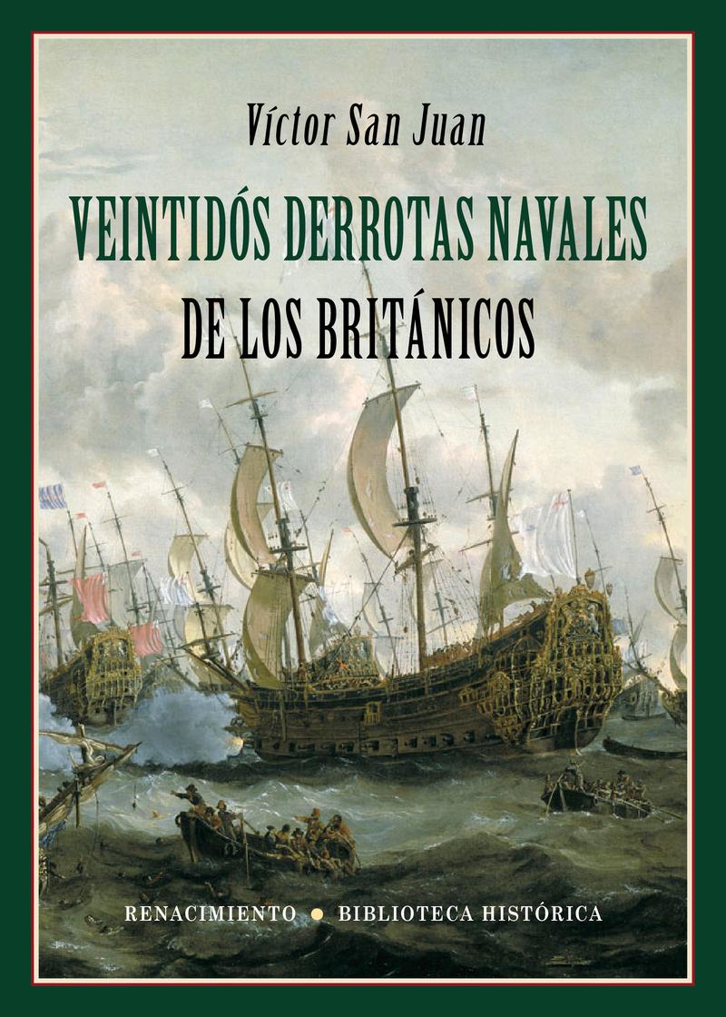 Veintidós derrotas navales de los británicos: portada