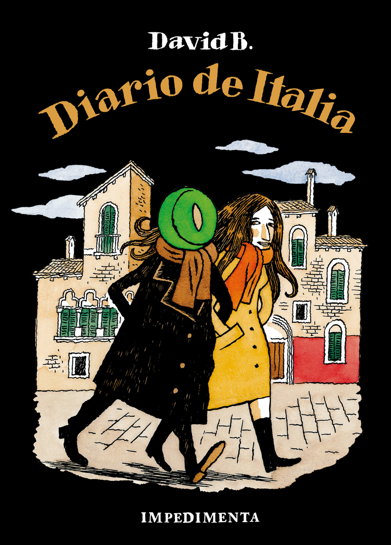 Diario de Italia: portada