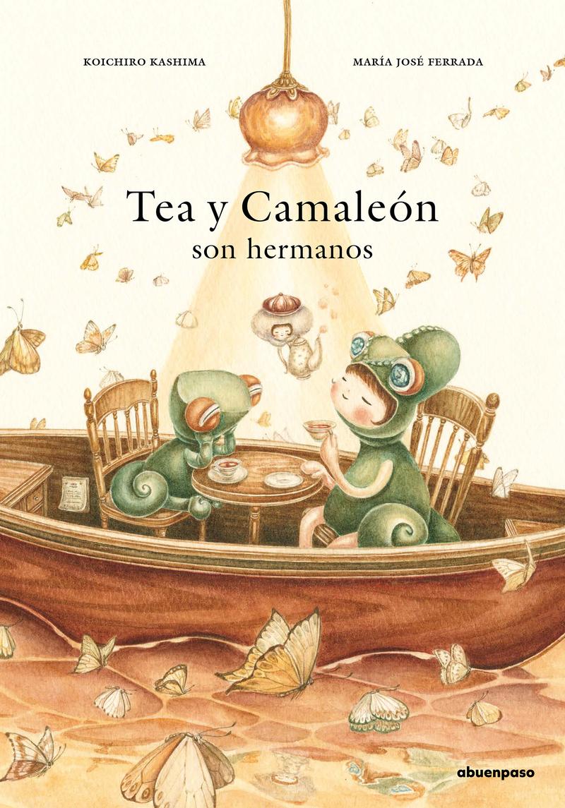Tea y Camaleón son hermanos: portada