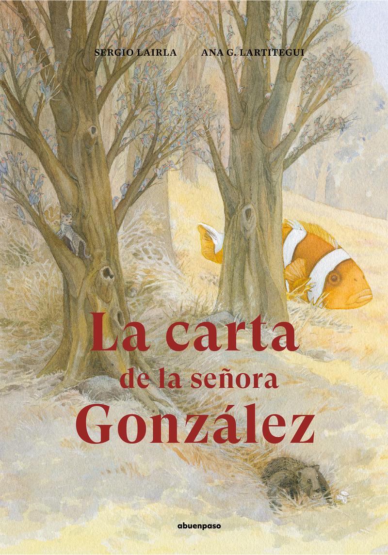 La carta de la señora González: portada