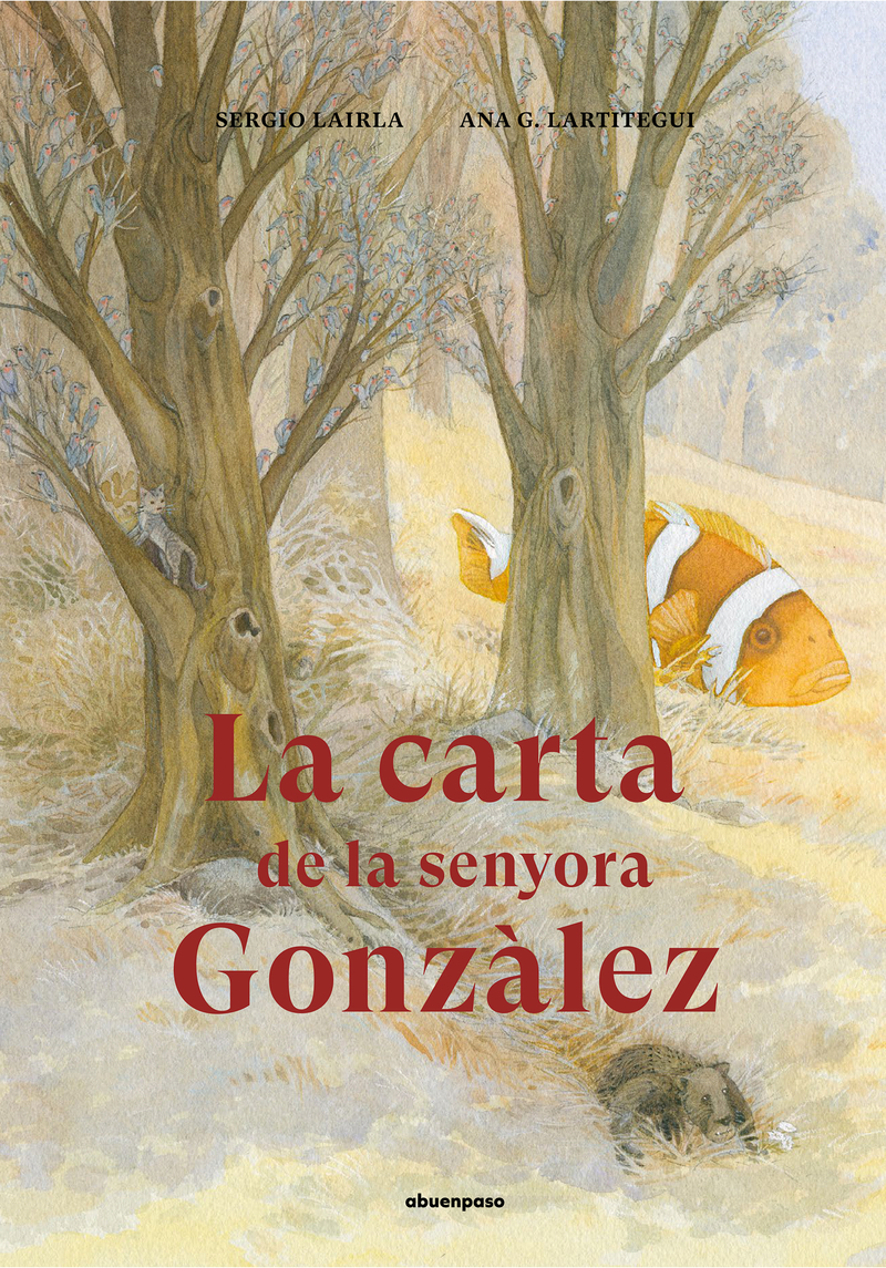 La carta de la senyora Gonzàlez: portada