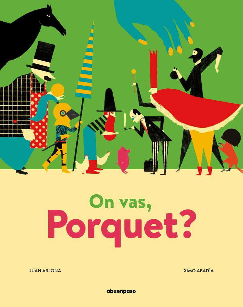 On vas, Porquet?: portada