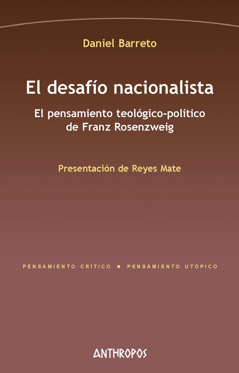 EL DESAFÍO NACIONALISTA: portada