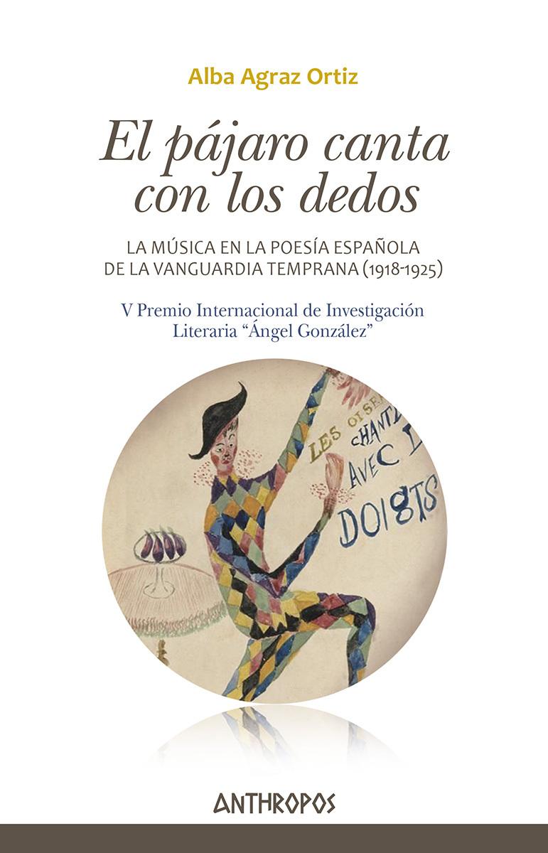EL PÁJARO CANTA CON LOS DEDOS: portada