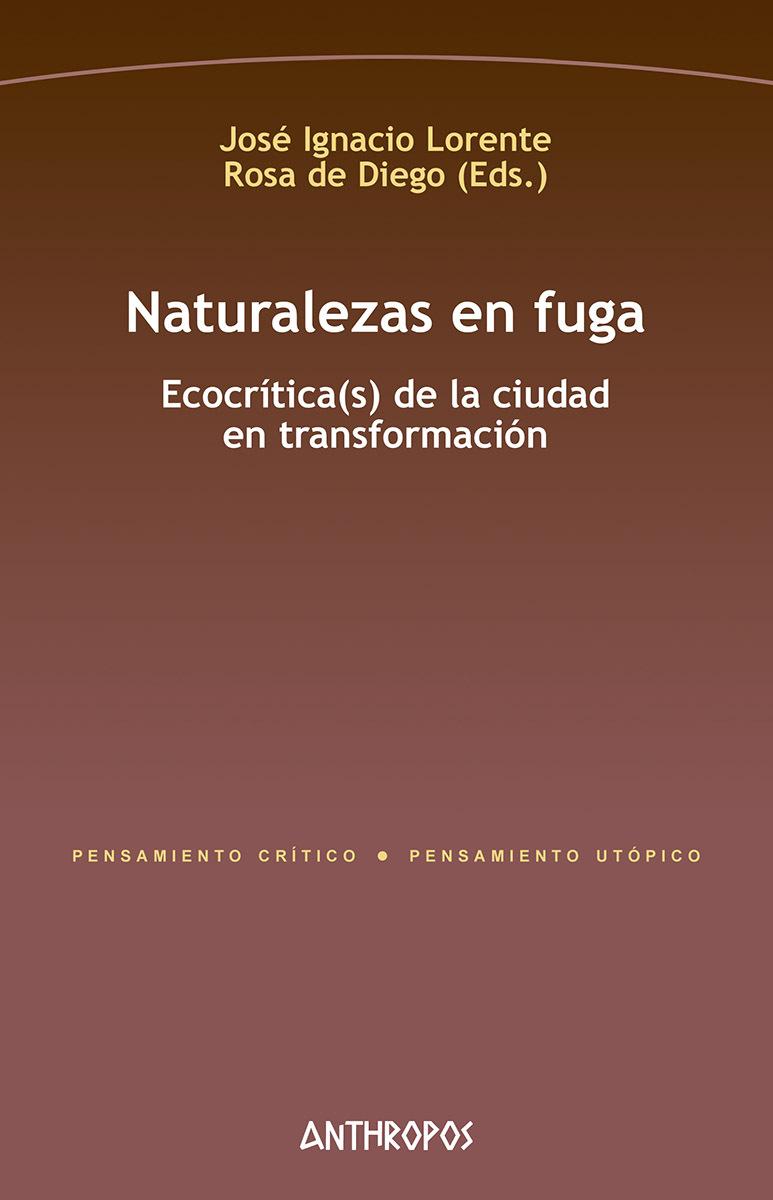 NATURALEZAS EN FUGA: portada