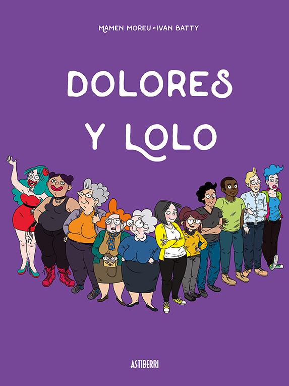 DOLORES Y LOLO: portada
