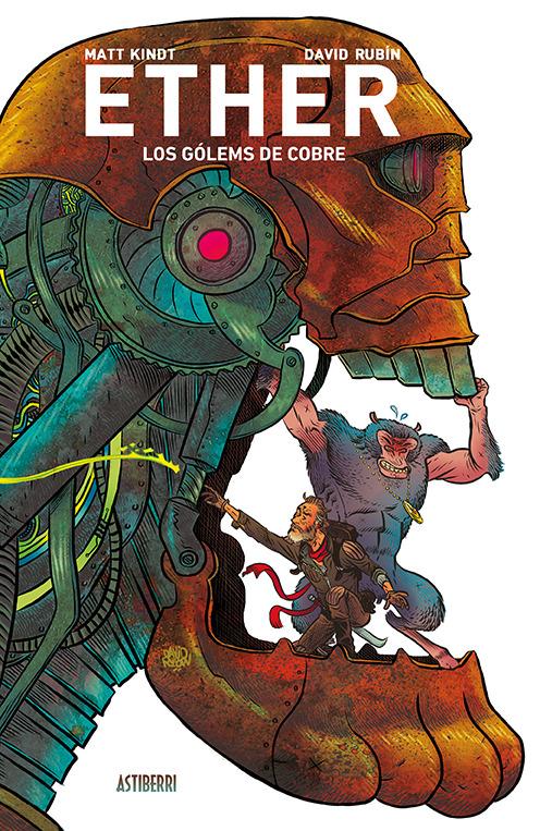 ETHER 2. LOS GOLEMS DE COBRE: portada