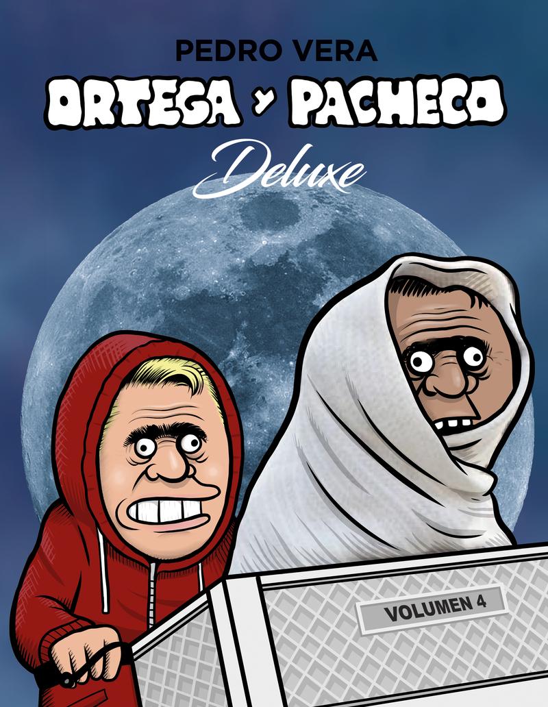 ORTEGA Y PACHECO DELUXE VOL. 4: portada
