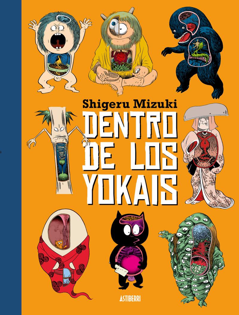DENTRO DE LOS YOKAIS: portada