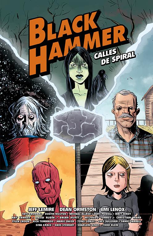 BLACK HAMMER. CALLES DE SPIRAL: portada