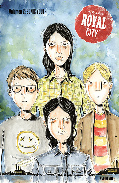 ROYAL CITY 2. SONIC YOUTH: portada