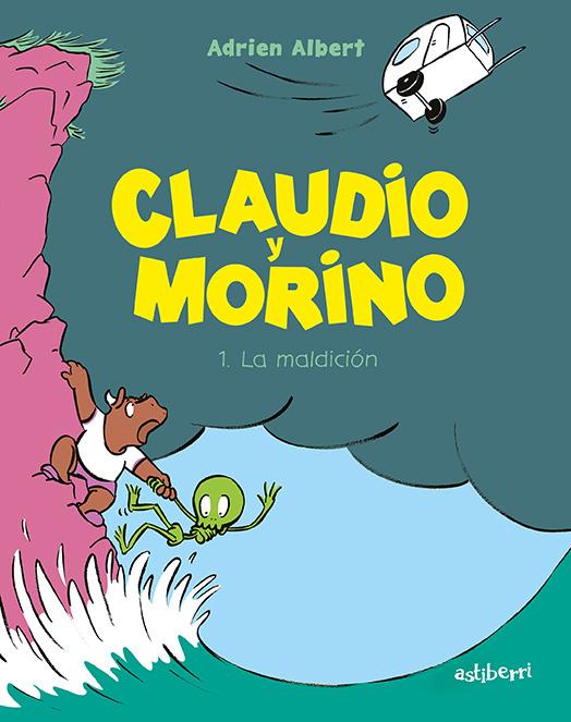 CLAUDIO Y MORINO 1. LA MALDICIÓN: portada