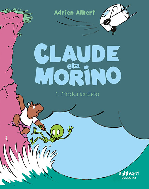 CLAUDE ETA MORINO 1. MADARIKAZIOA (EUSKERA): portada