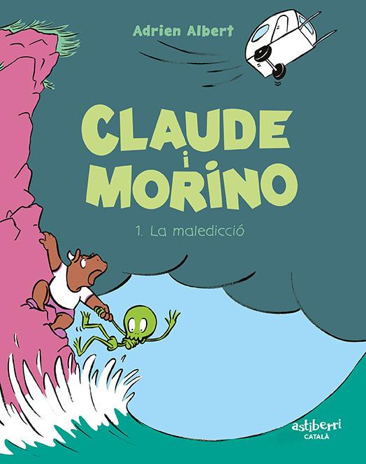 CLAUDE I MORINO 1. LA MALEDICCIÓ (CATALÁ): portada