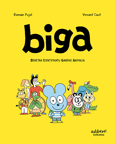 BIGA 1 (EUSKERA): portada