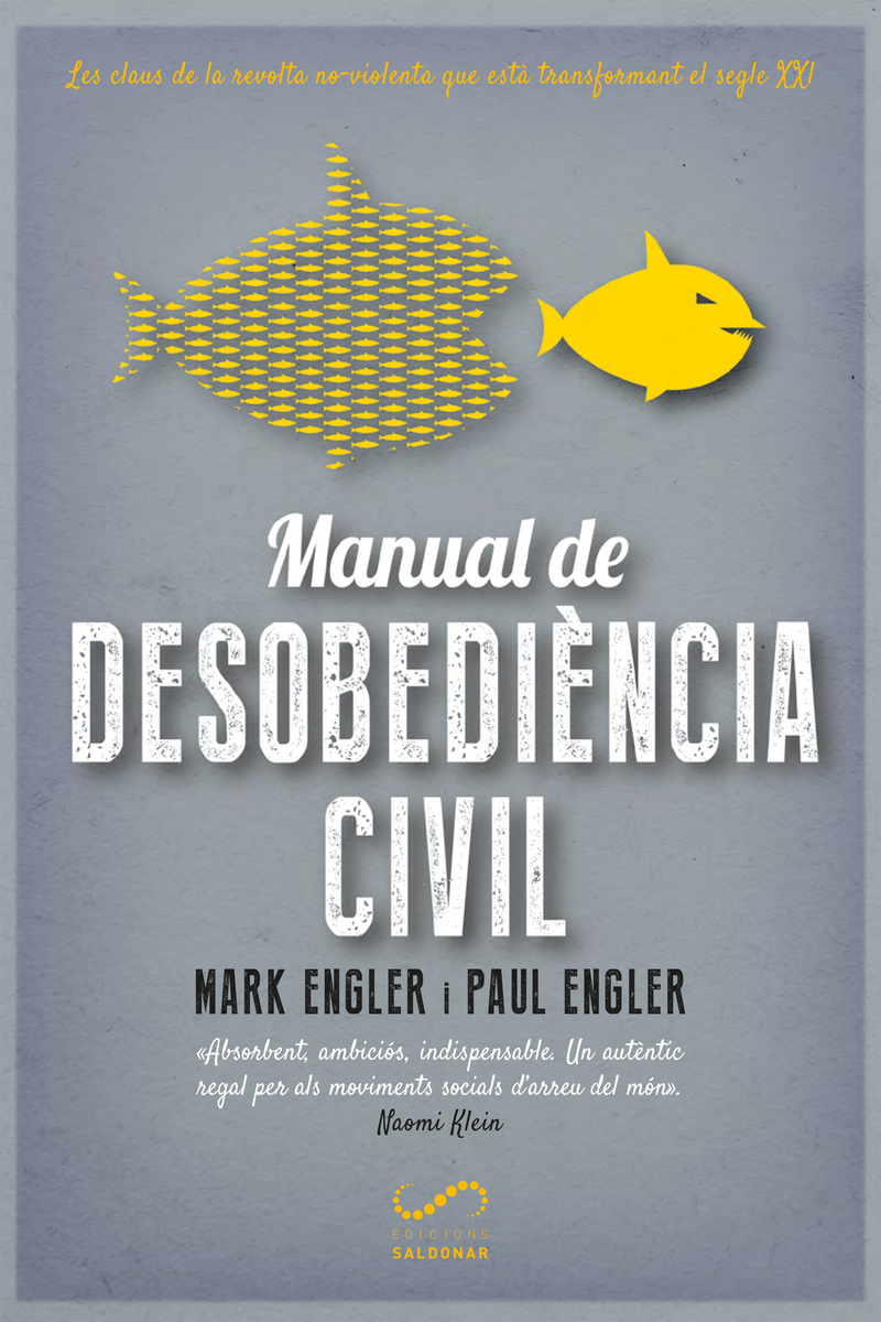 Manual de desobediència civil: portada