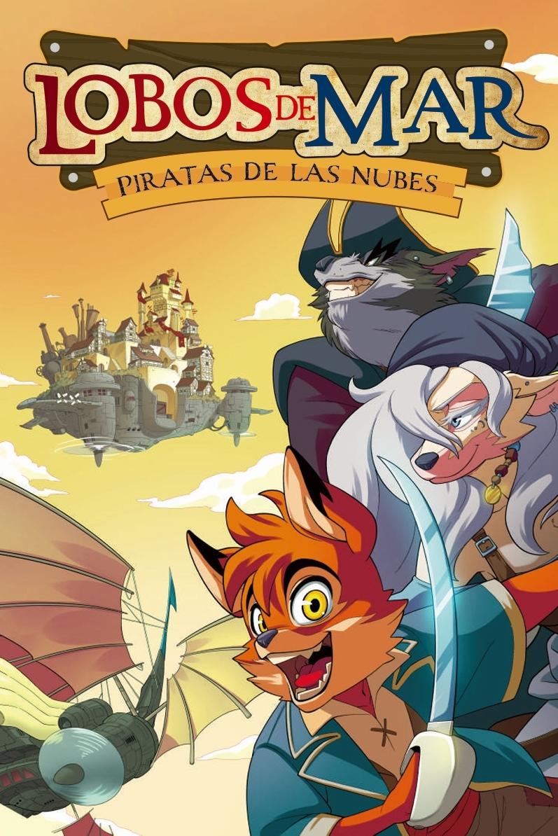 Piratas de las nubes: portada