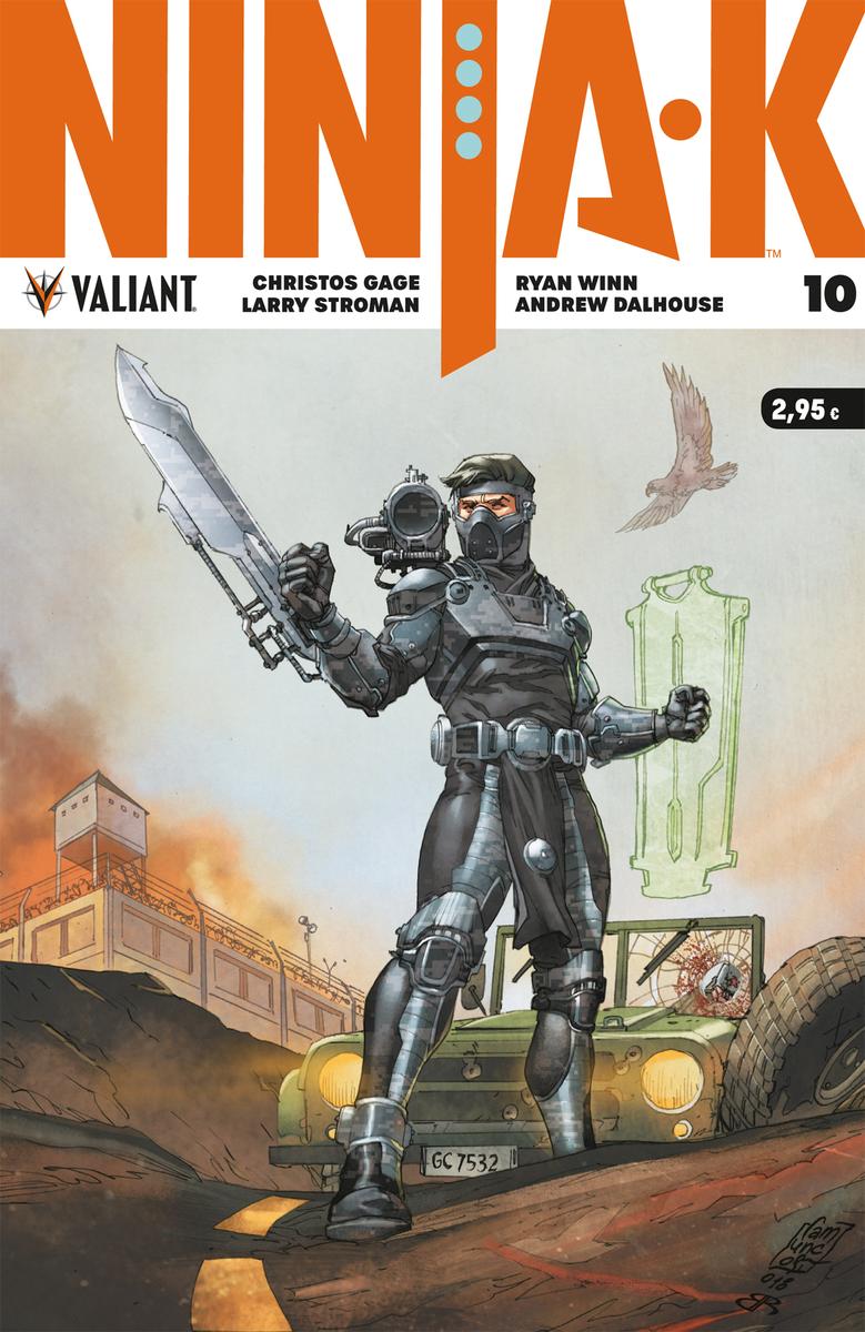 NINJA-K 10: portada