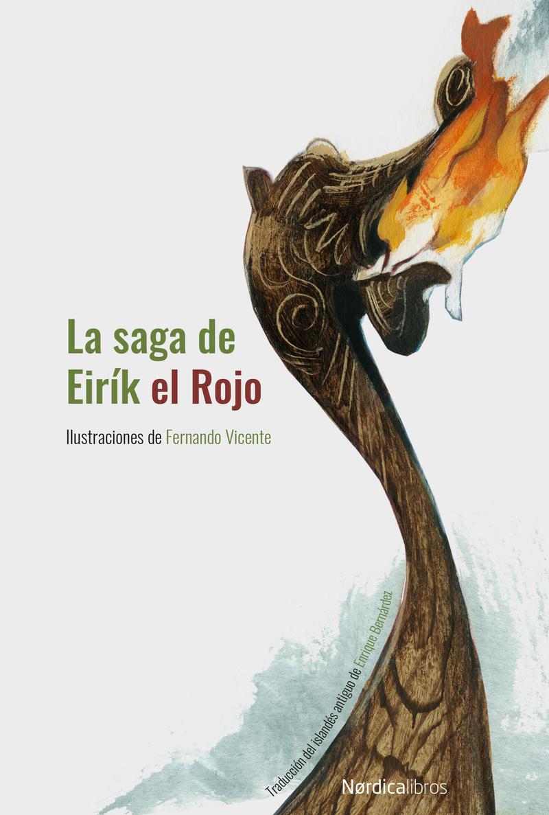 La saga de Eirík el Rojo (nueva edición en cartoné): portada